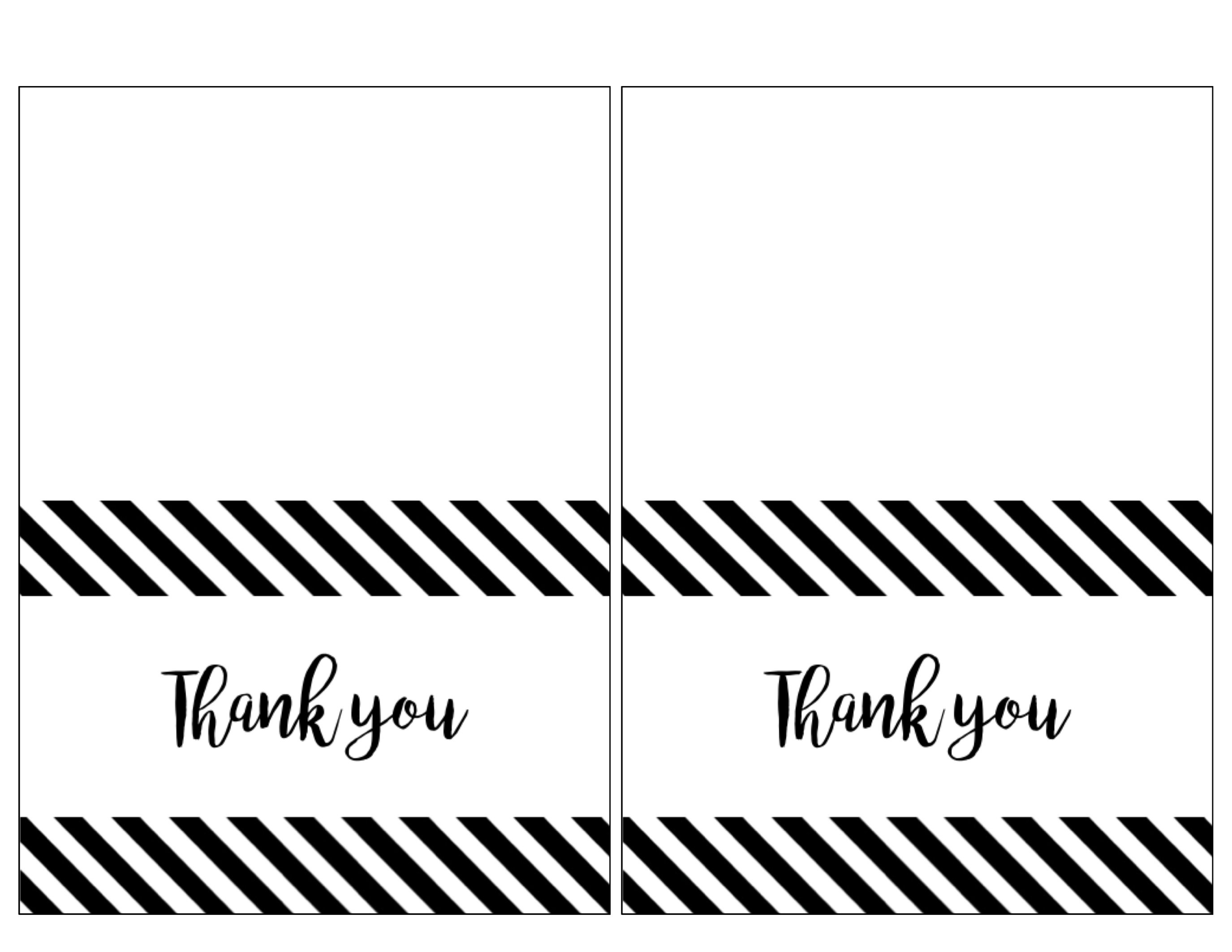Thank You Cards To Print Free - Demir.iso-Consulting.co - Free Printable Thank You Notes