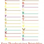 Thanksgiving Printables For Kids | Natural Beach Living   Free Printable Gratitude Worksheets
