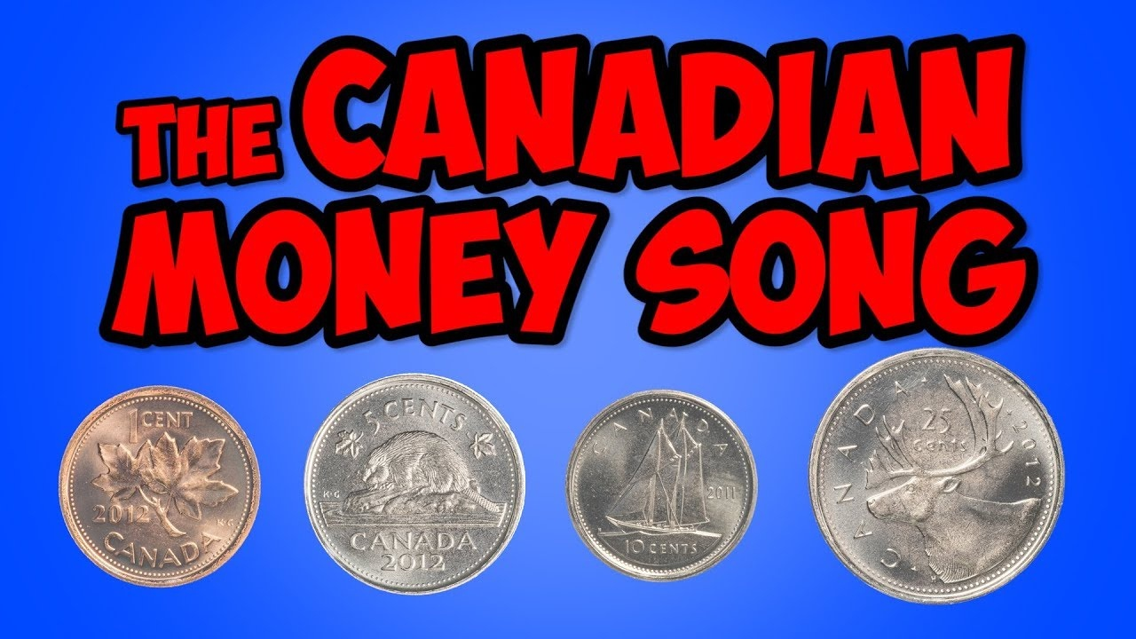 The Canadian Money Song   Penny, Nickel, Dime, Quarter   Math Song - Free Printable Canadian Play Money For Kids