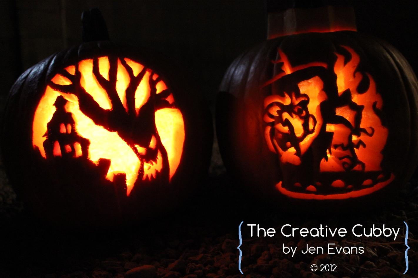 The Creative Cubby: October 2012 - Hard Pumpkin Carving Patterns Free Printable