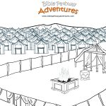 The Tabernacle – Bible Pathway Adventures   Free Printable Pictures Of The Tabernacle