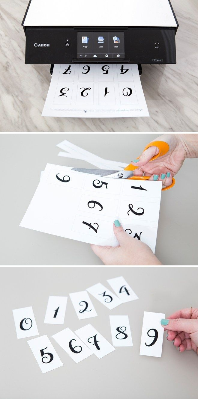 This Diy Wedding Countdown Sign Is The Absolute Cutest!   Diy - Free Printable Wedding Countdown