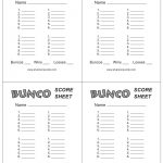 This Is The Bunco Score Sheet Download Page. You Can Free Download   Free Printable Bunco Game Sheets