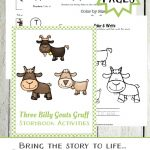 Three Billy Goats Gruff Printables And Activities   Embark On The   Three Billy Goats Gruff Masks Printable Free
