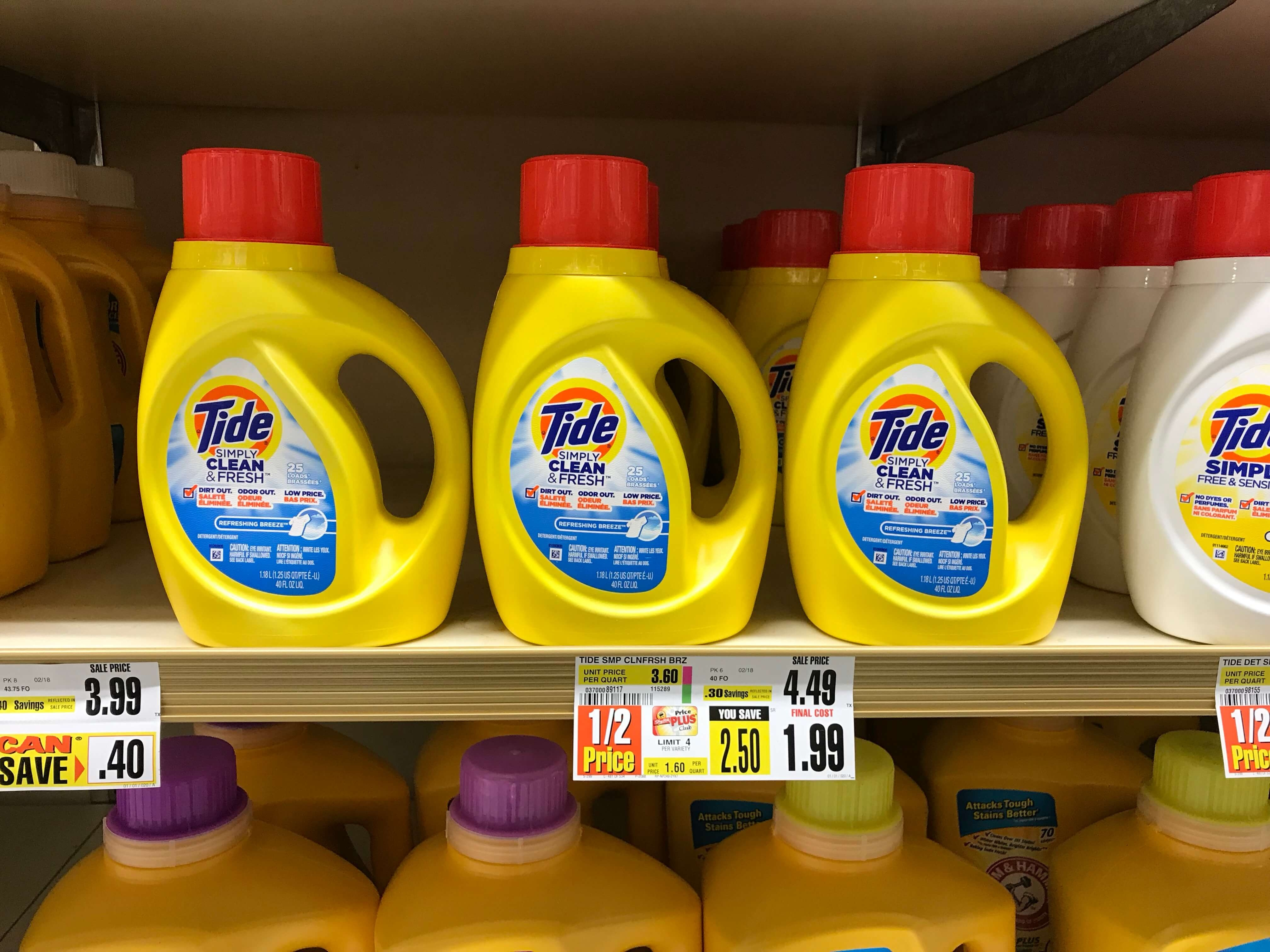 Tide Simply Laundry Detergent Just $0.99 At Shoprite! {2/11}Living - Free Printable Tide Simply Coupons