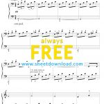Top 100 Popular Piano Sheets Downloaded From Sheetdownload   Free Piano Sheet Music Online Printable Popular Songs