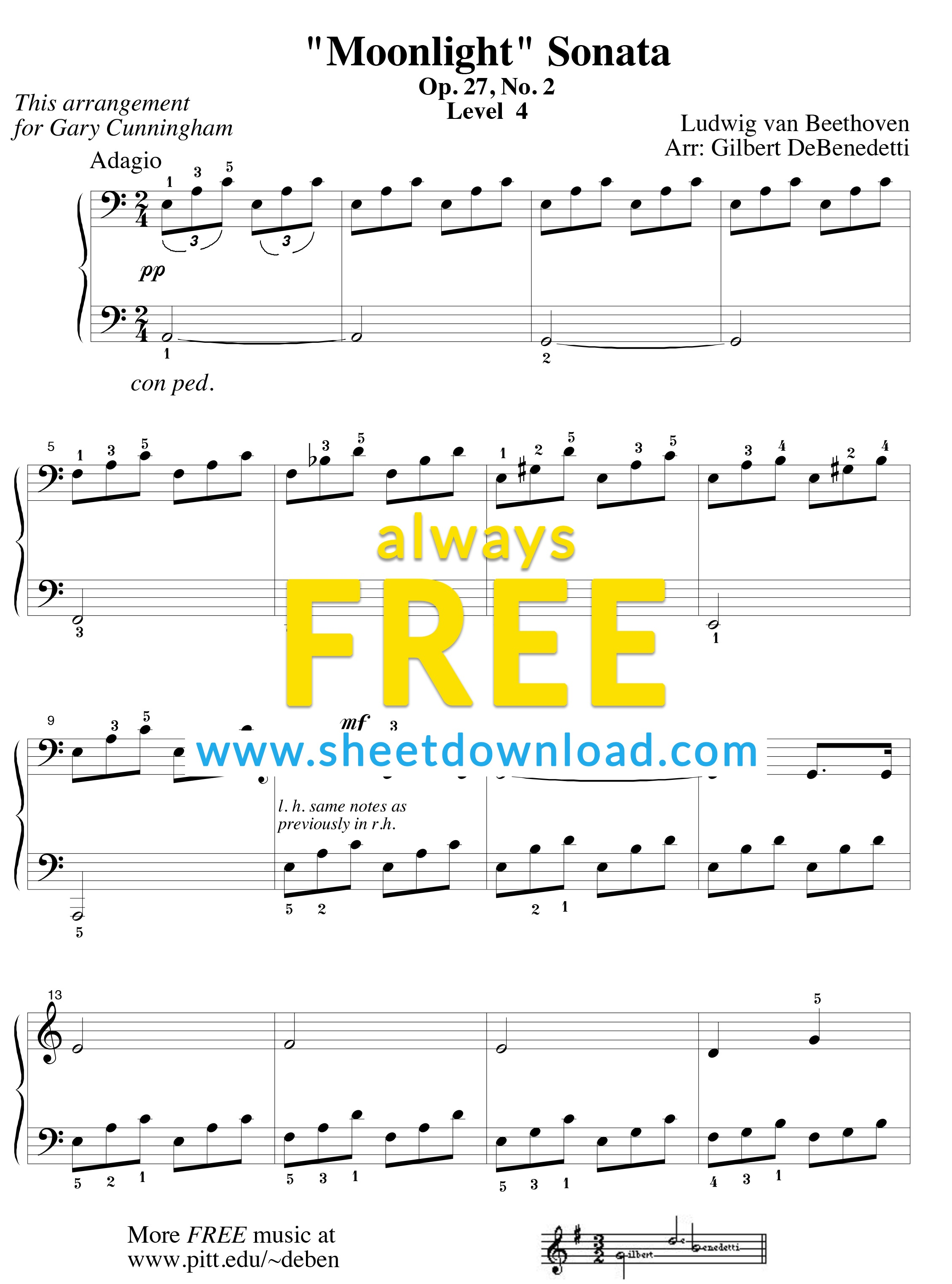 Top 100 Popular Piano Sheets Downloaded From Sheetdownload - Free Printable Piano Sheet Music For You Are My Sunshine