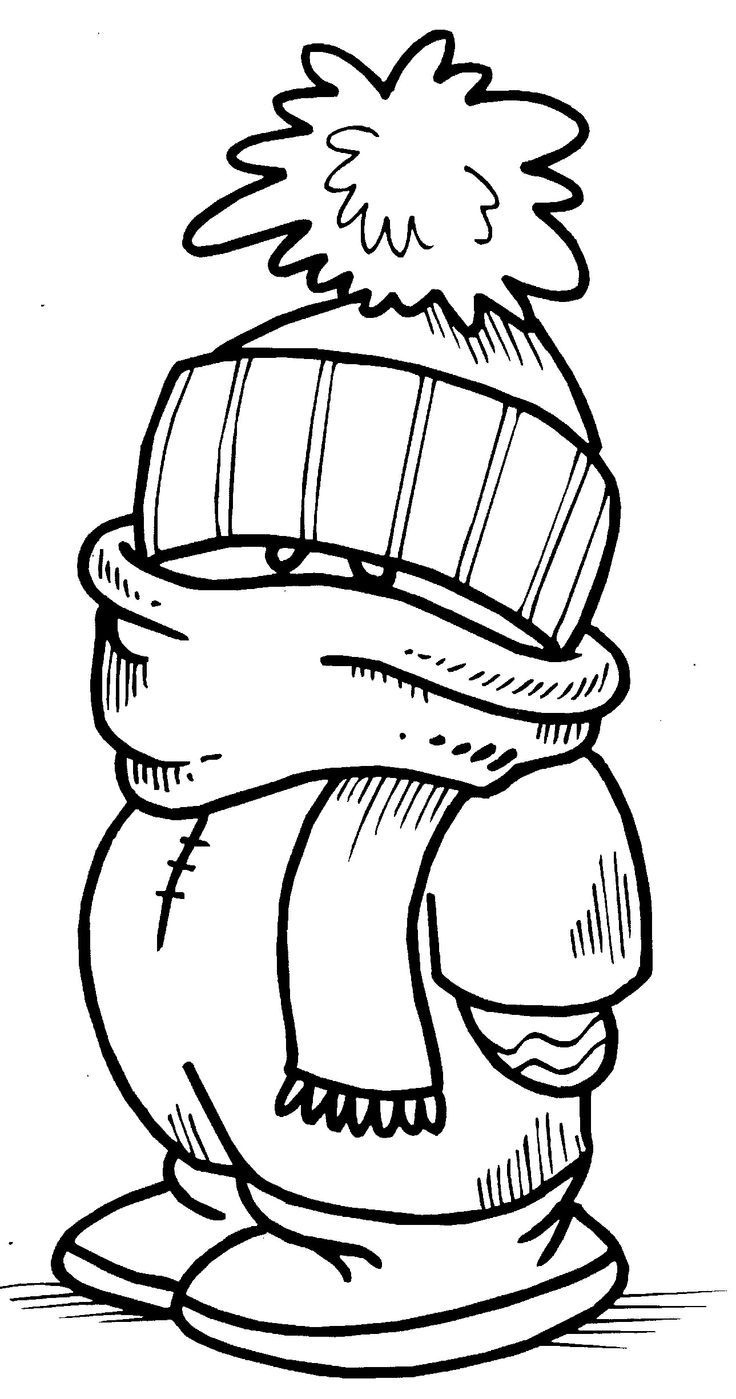Top 25 Free Printable Winter Coloring Pages Online | Coloring Pages - Free Printable Winter Coloring Pages