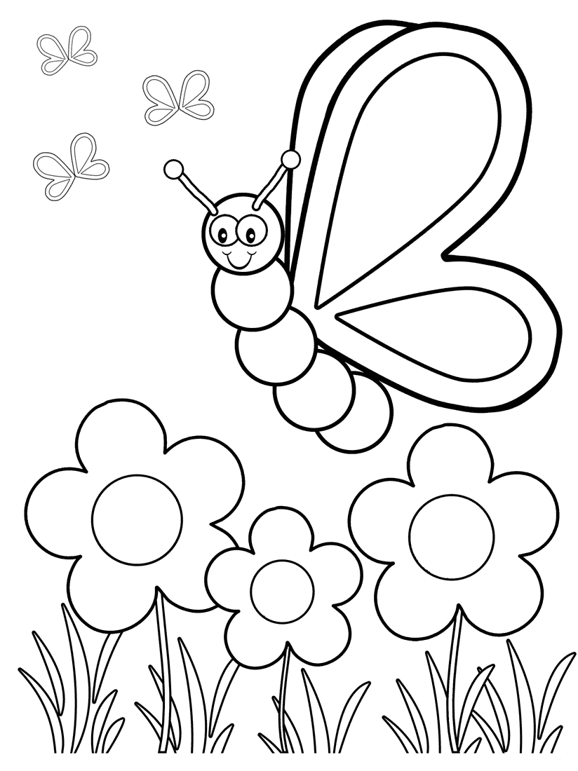 Top 50 Free Printable Butterfly Coloring Pages Online   Coloring - Free Printable Butterfly Coloring Pages