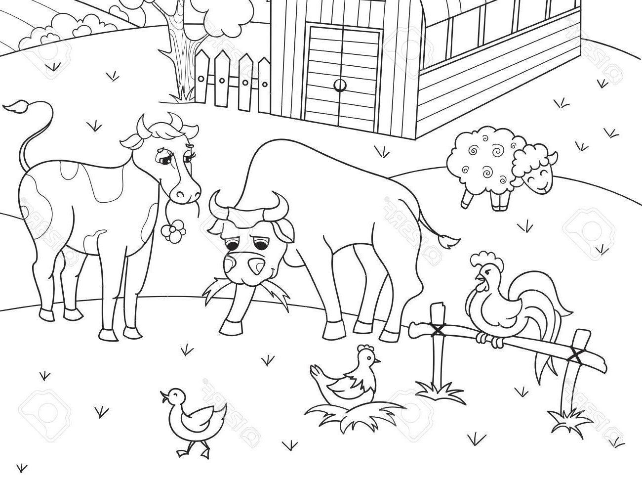 Top Farm Animal Printables Vector Photos » Free Vector Art, Images - Free Printable Farm Animal Pictures