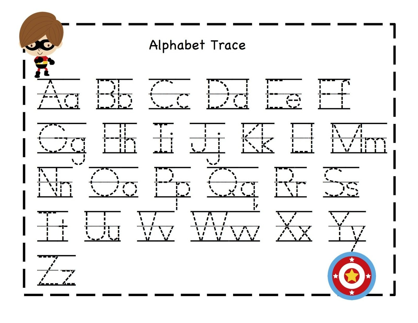 Tracing Alphabet Abc | Kiddo Shelter | T1 | Alphabet Tracing, Abc - Free Printable Tracing Alphabet Worksheets