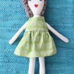 Traditional Rag Doll Diy | Crafts And Stuffed Creations | Diy Rag   Free Printable Cloth Doll Sewing Patterns