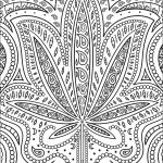 Trippy Weed Coloring Page | Free Printable Coloring Pages   Free Printable Trippy Coloring Pages