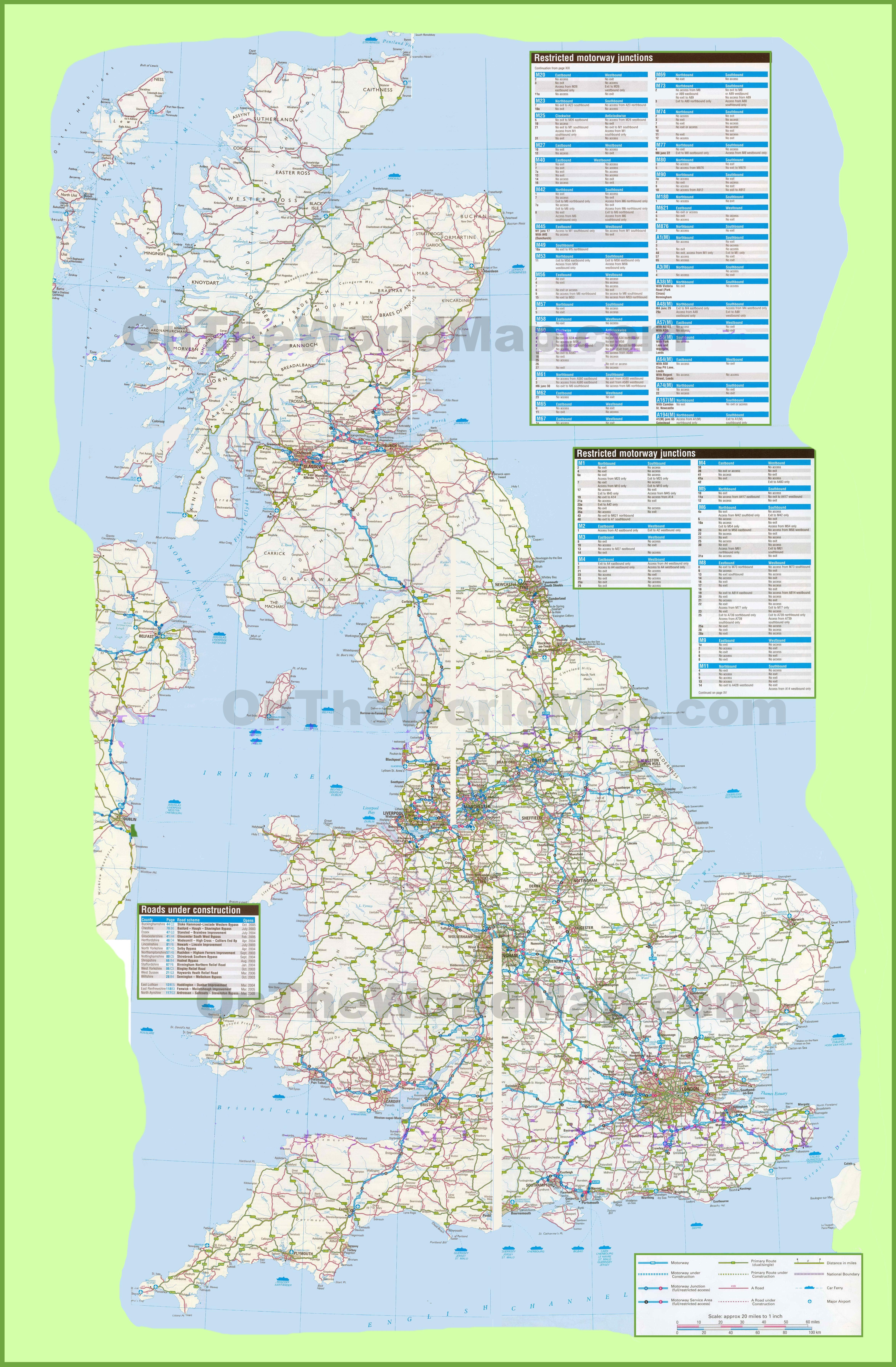 Uk Maps | Maps Of United Kingdom - Free Printable Map Of Uk And Ireland