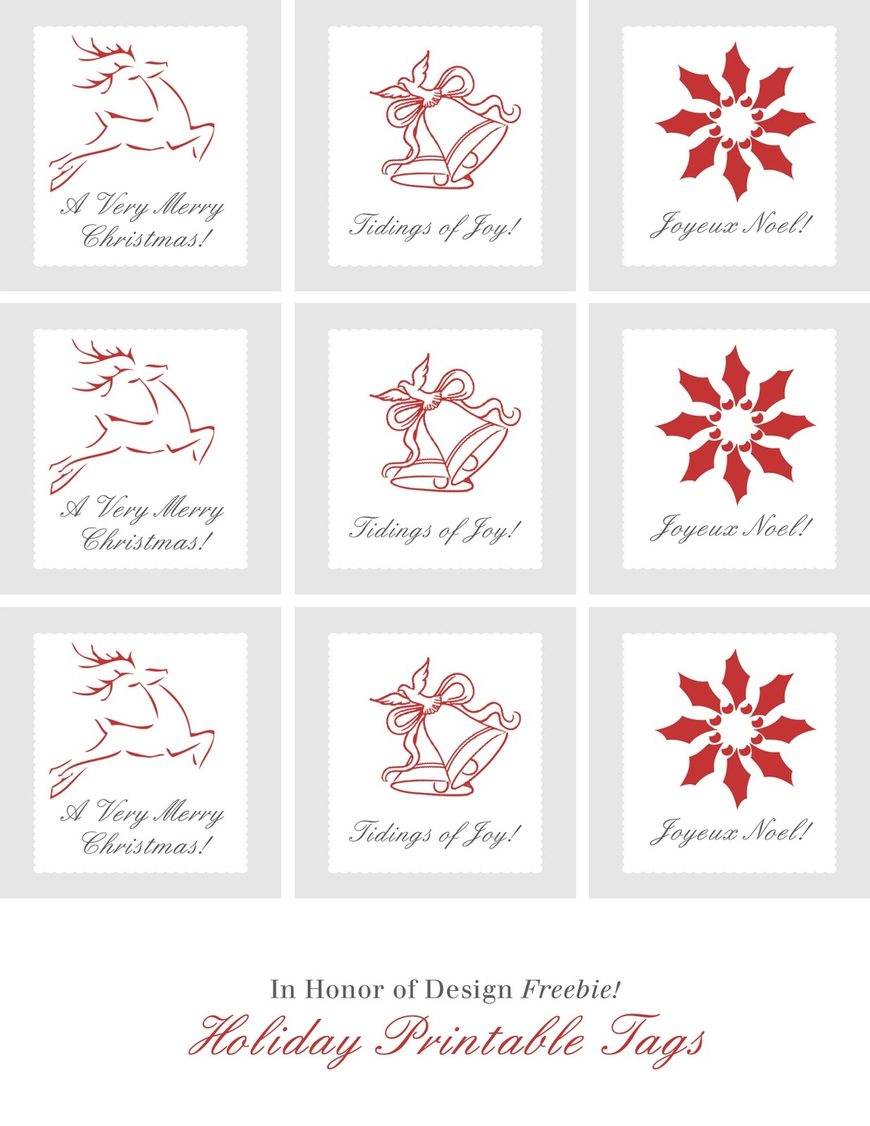Ultimate Collection Of Free Printable Christmas Gift Tags   Frugal - Diy Christmas Gift Tags Free Printable
