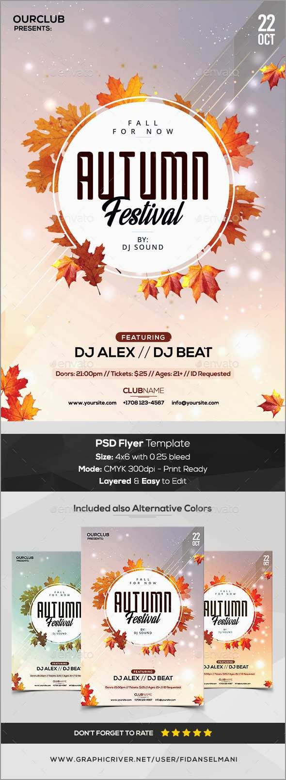 Unique Free Printable Fall Flyer Templates | Best Of Template - Free Printable Fall Flyer Templates