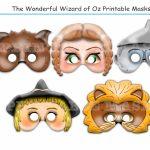 Unique The Wonderful Wizard Of Ozholidaypartystar On Zibbet   Free Printable Wizard Of Oz Masks