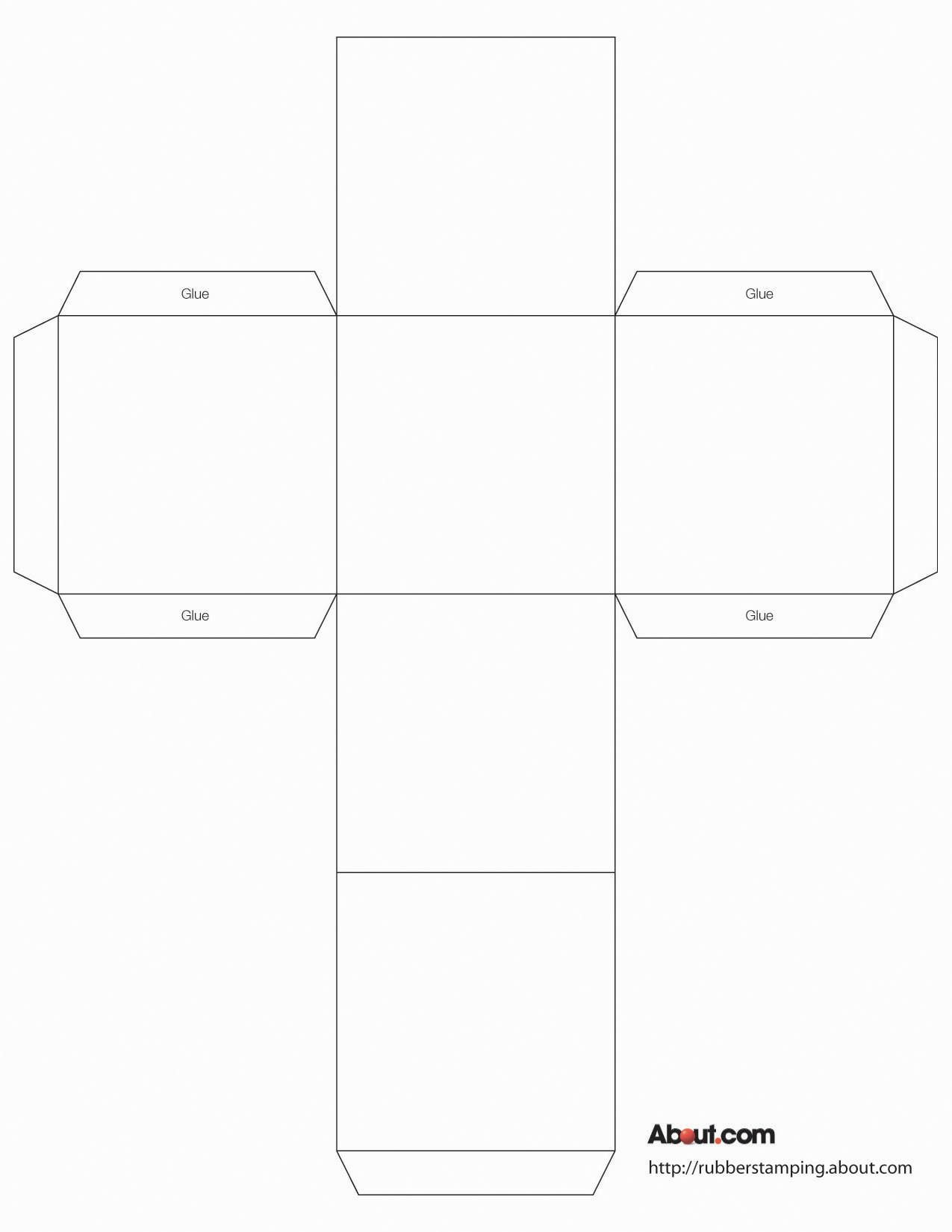 Use This Cube Box To Make Gift Boxes, Favors, Decorations And More - Box Templates Free Printable