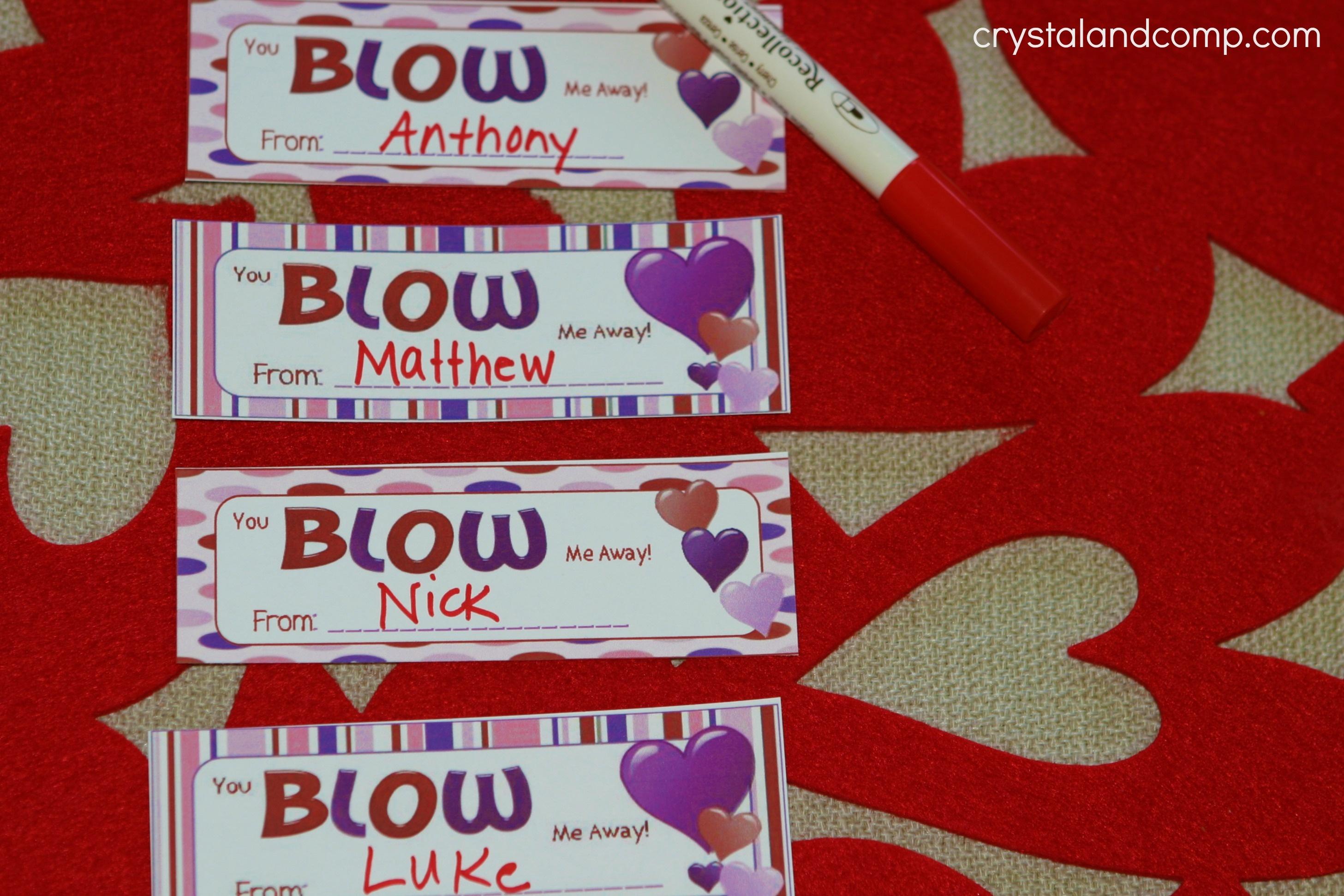 Valentine Crafts: Free Printable - Free Printable Valentine Decorations