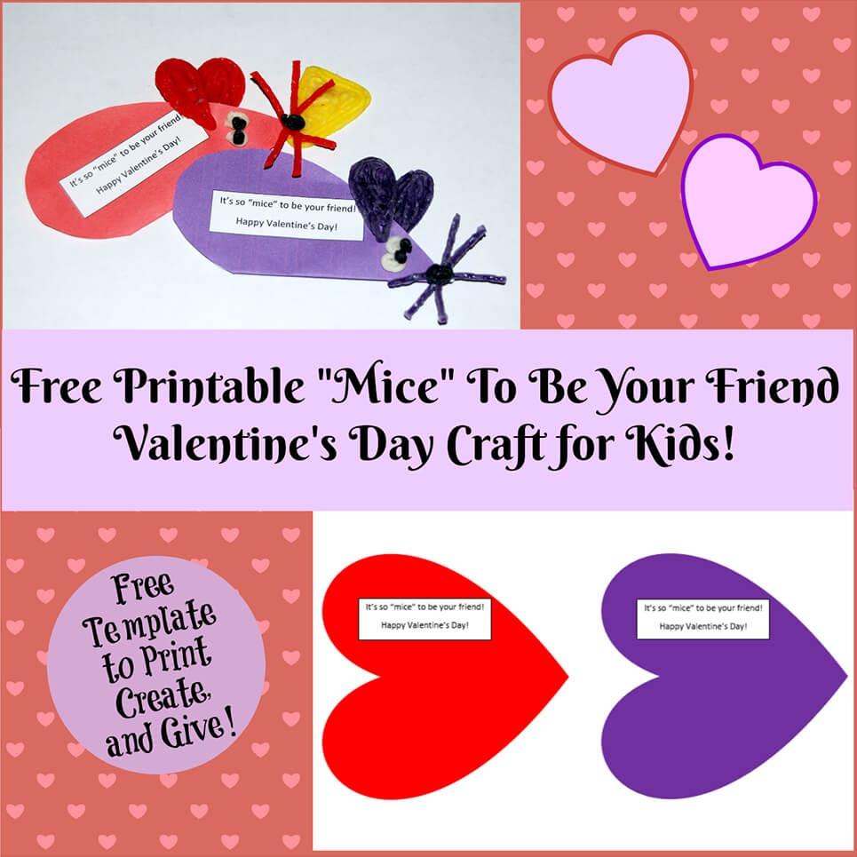 Valentine's Day Crafts For Kids | Wikki Stix - Free Printable Valentine Decorations