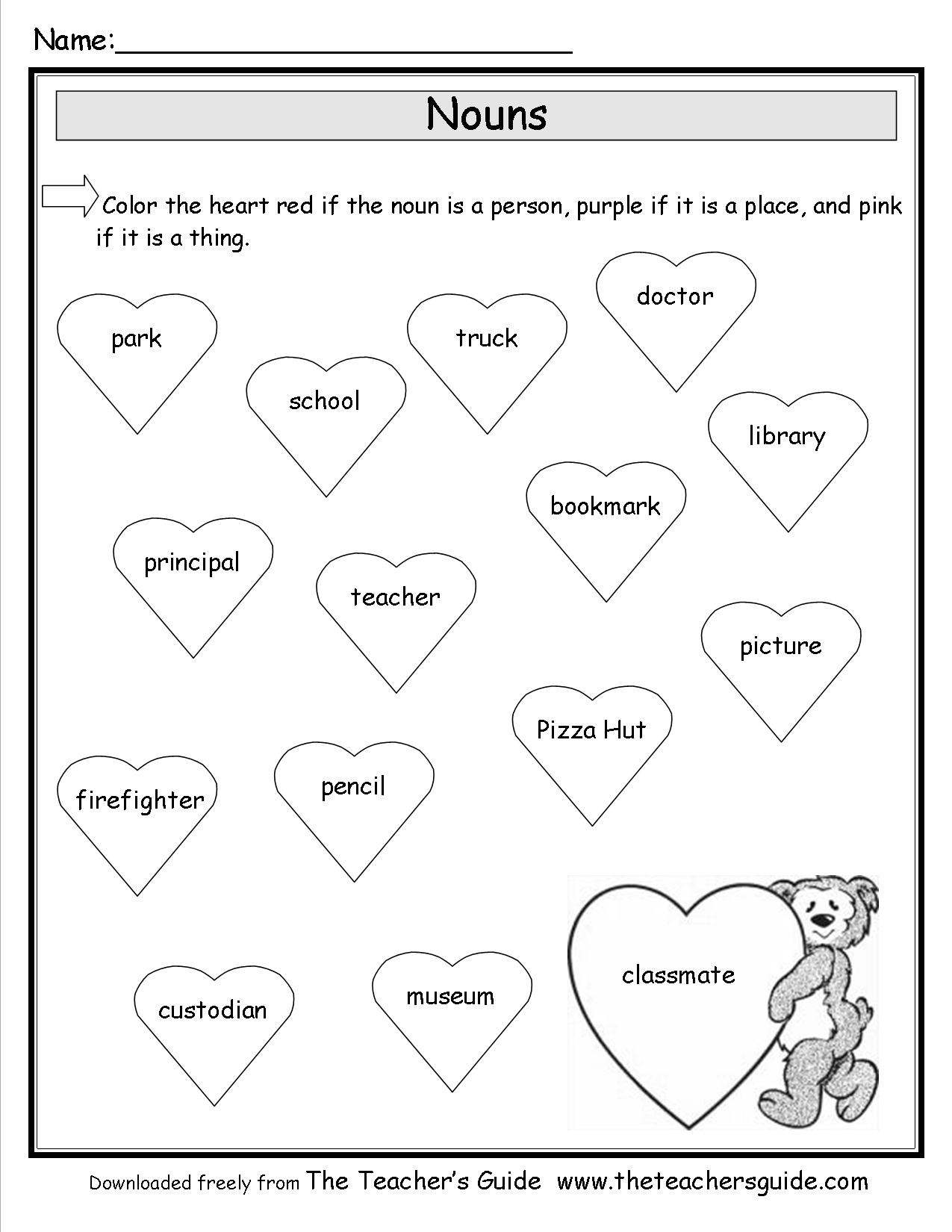 Valentine's Day Lesson Plans, Themes, Printouts, Crafts - Free Printable Valentine's Day Stencils