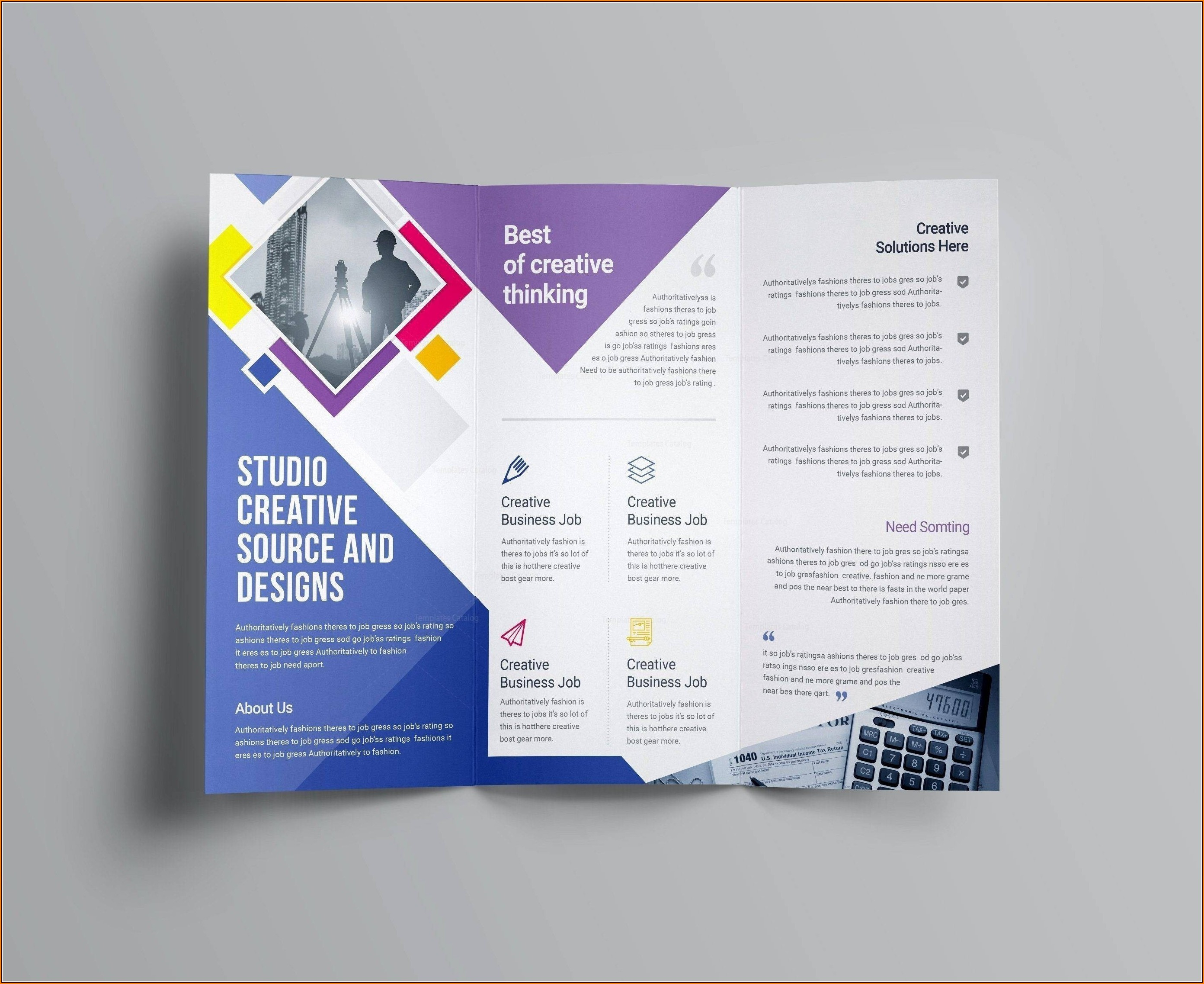Valid Business Brochure Templates Psd Free Download   Wattweiler - Business Flyer Templates Free Printable