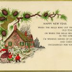 Vintage New Year Greeting Card   Old Design Shop Blog   Free Printable Happy New Year Cards