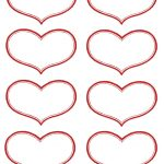 Vintage Valentine Printable   Antique Heart Labels | Diy Ideas   Free Printable Hearts
