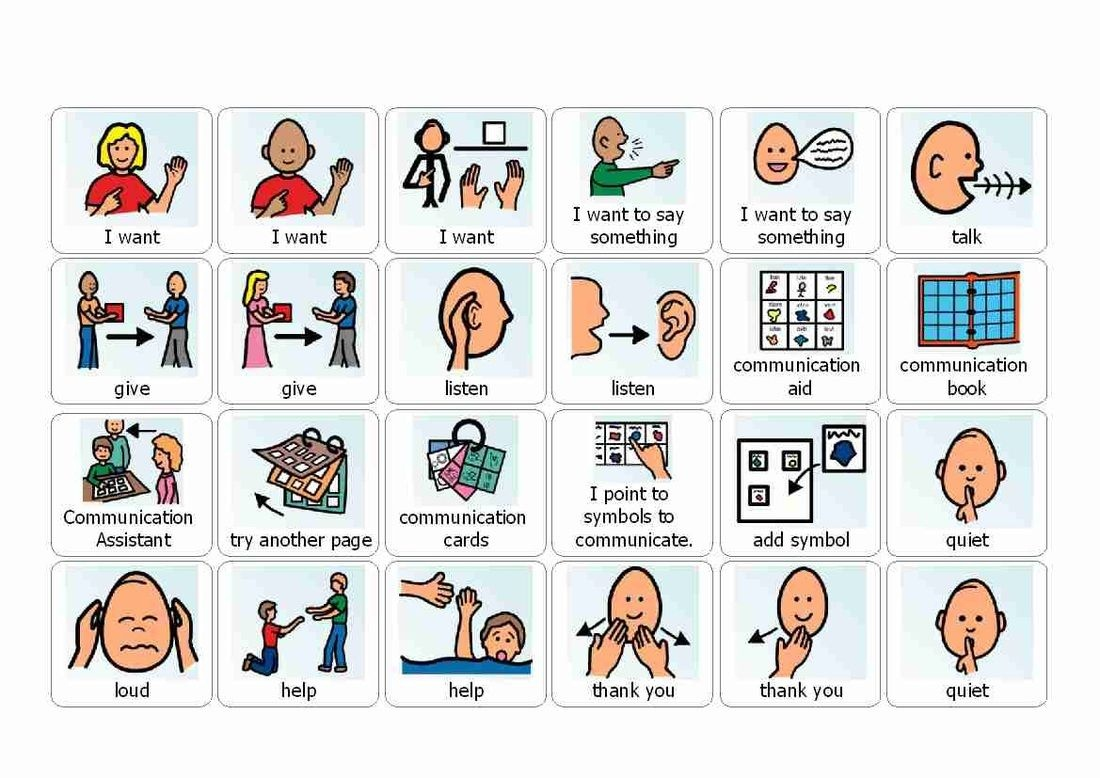 Visual Cue Cards For Use With Autistic Children. Printable And Great - Free Printable Picture Communication Symbols