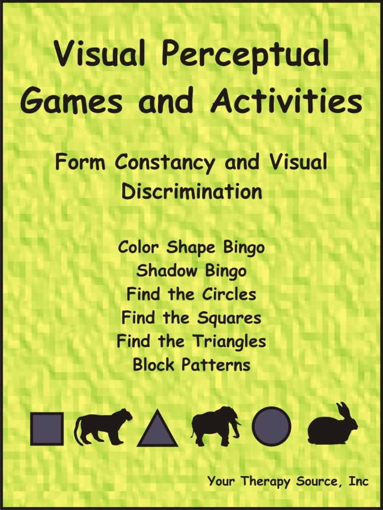 Visual Perceptual Games And Activities – Form Constancy And Visual - Free Printable Form Constancy Worksheets