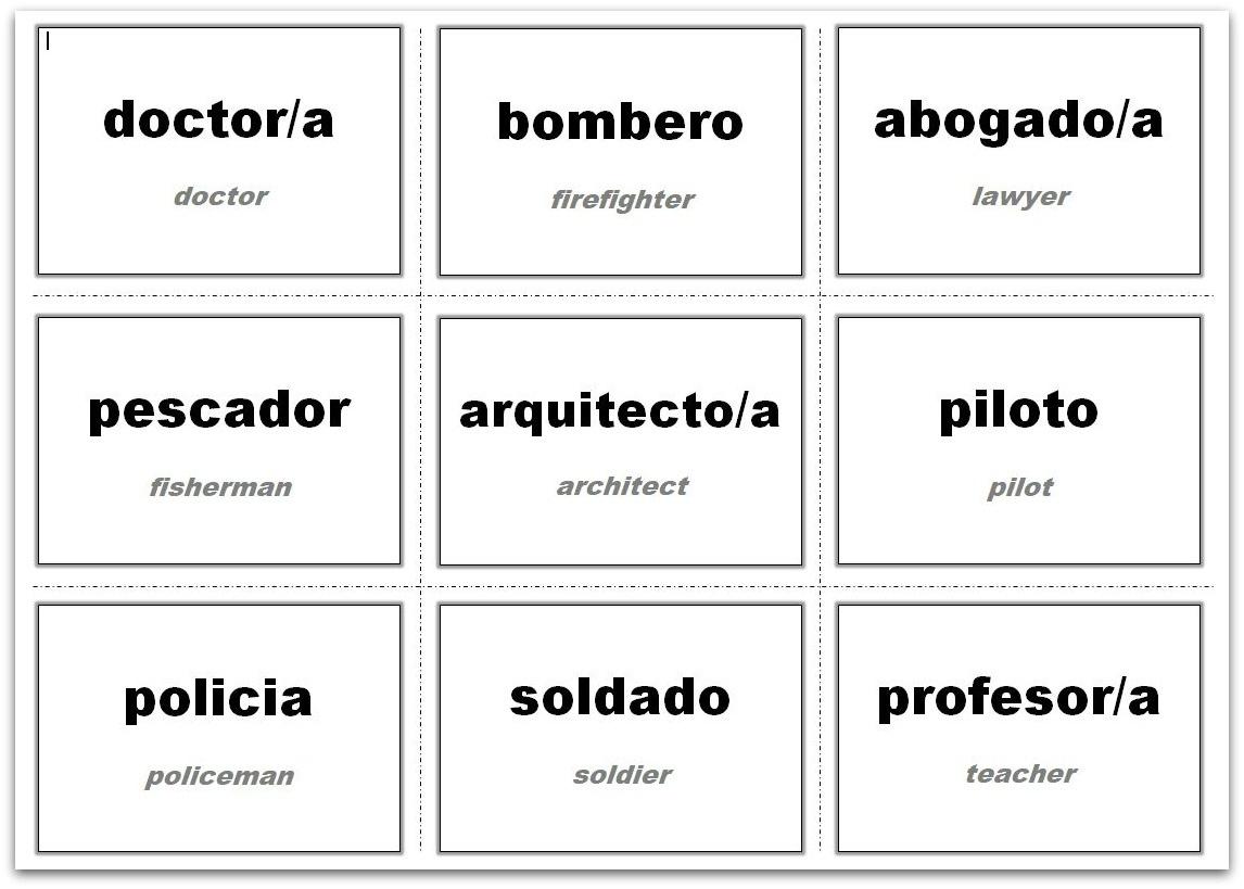 Vocabulary Flash Cards Using Ms Word - Free Printable Vocabulary Flashcards