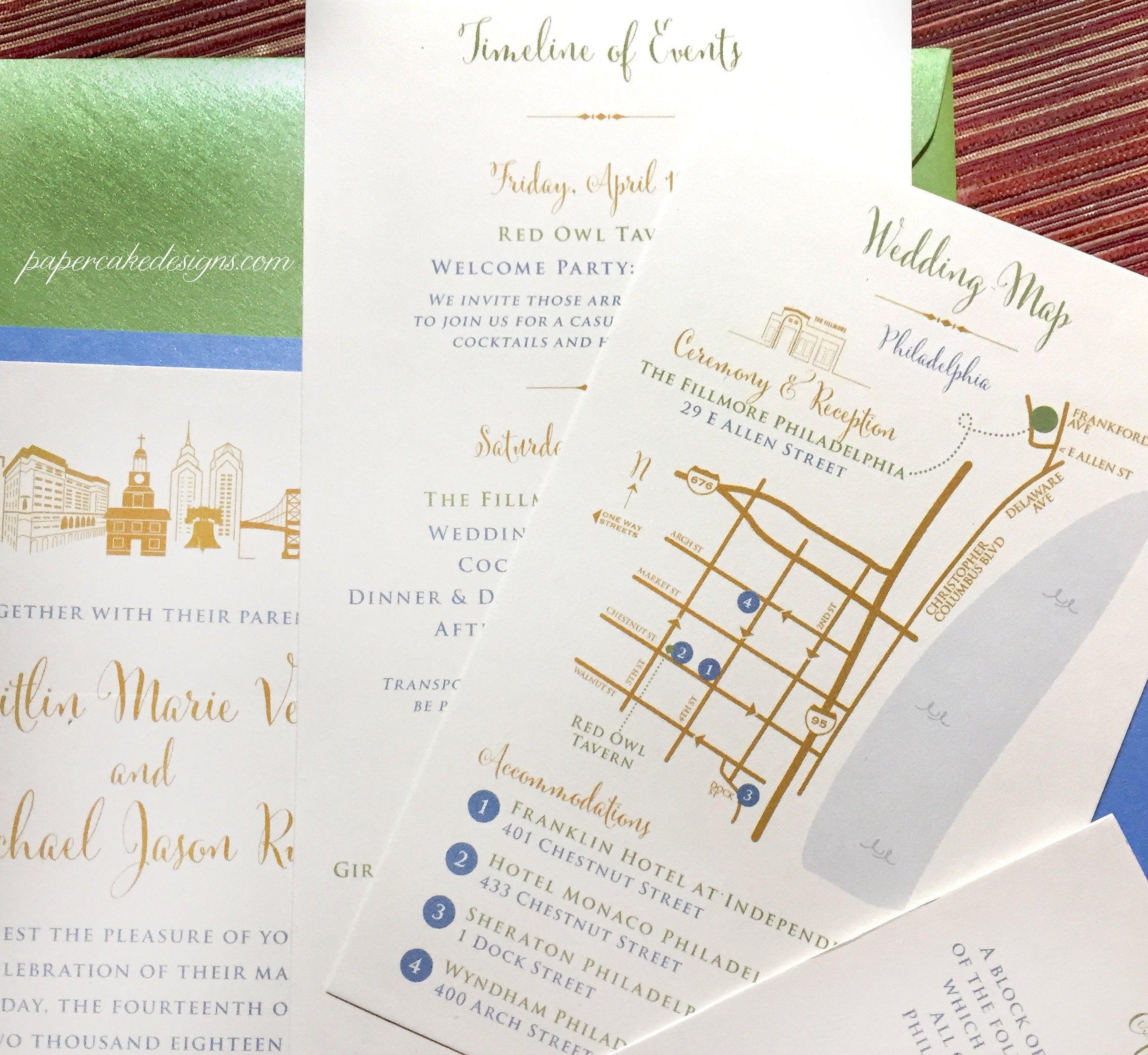 Wedding Map Custom Design / Printable Diy Digital Pdf /   Etsy - Free Printable Wedding Maps