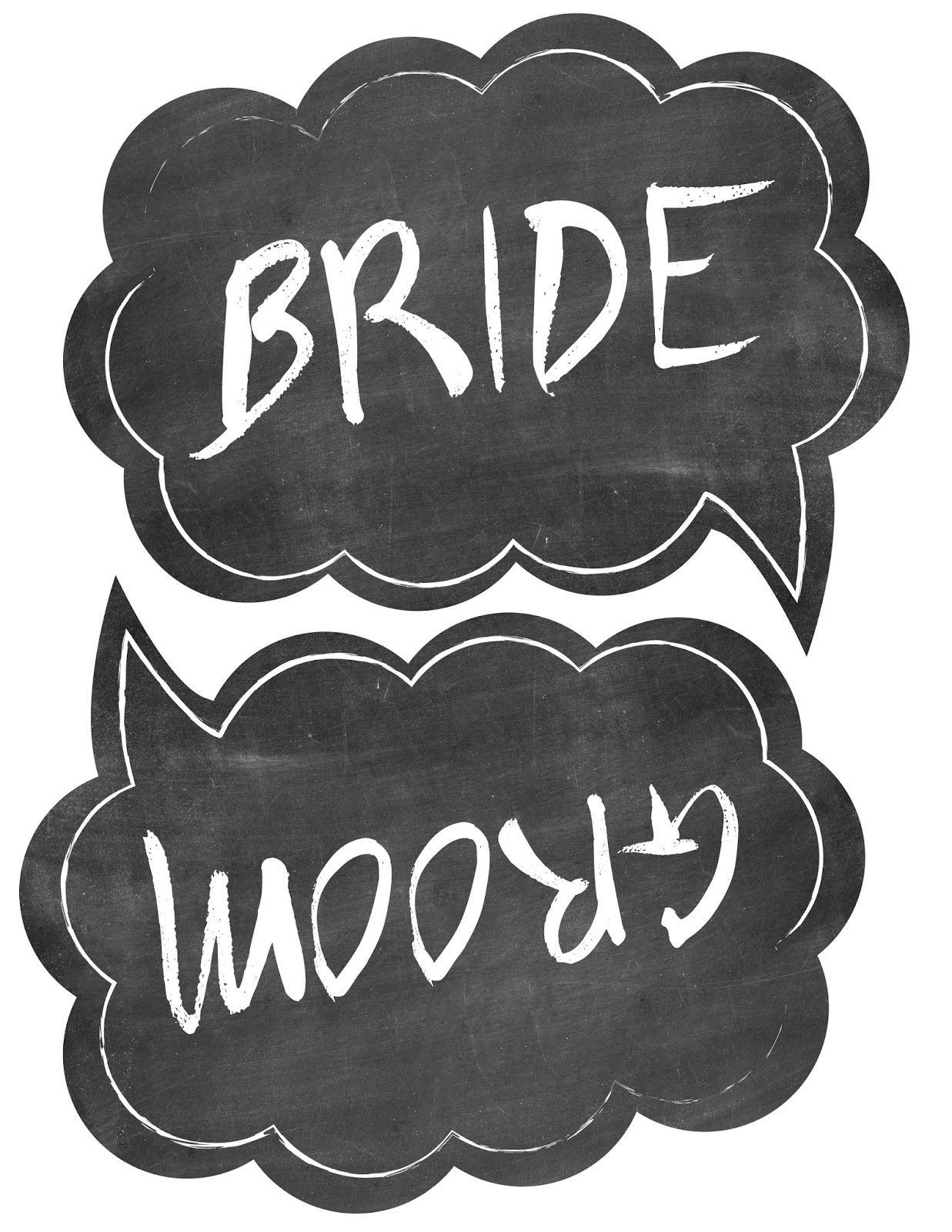 Wedding Photo Booth Props Free Printable Templates | Wedding - Free Printable Photo Booth Sign Template