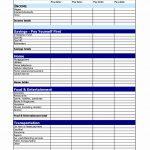 Weekly Budget Spreadsheet Student Template Restaurant Blank Bi   Free Printable Bi Weekly Budget Template
