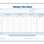 Weekly Employee Time Sheet | Good To Know | Timesheet Template   Free Printable Time Sheets Pdf