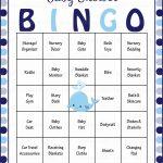 Whale Baby Bingo Cards   Printable Download   Prefilled   Baby   Free Printable Baby Shower Bingo