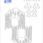 Willow Tree Pop Up Card/kirigami Pattern 2   Pop Up Cards   Pop Up   Free Printable Kirigami Pop Up Card Patterns