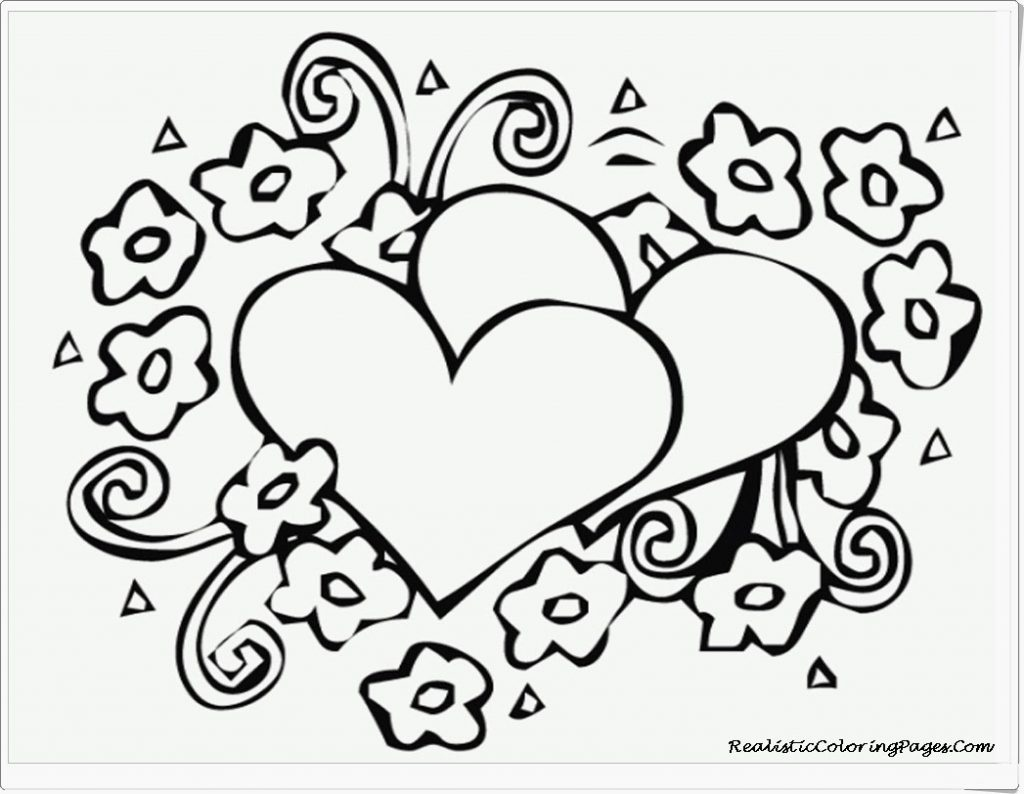 Winsome Free Printable Heart Coloring Pages Better For Kids - Free Printable Heart Coloring Pages