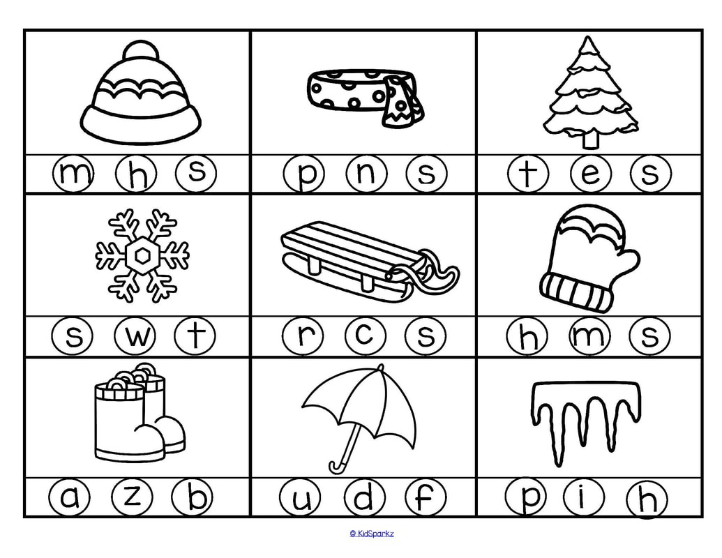 Winter Theme Activities And Printables For Preschool And - Free Printable Winter Preschool Worksheets