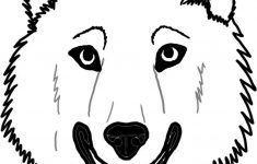 Wolf Face Coloring Page - Coloring Home - Free Printable ...