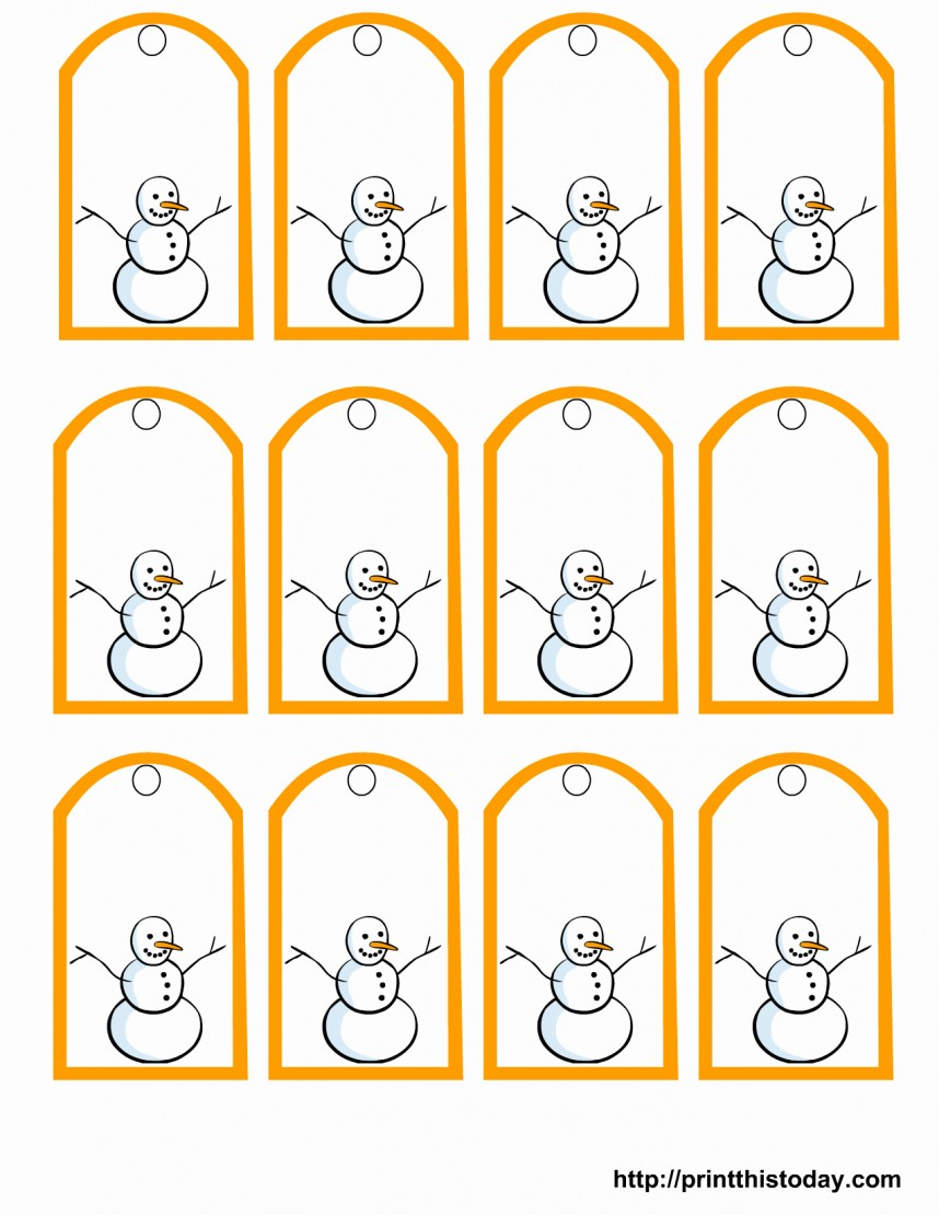 Wonderful Free Printable Gift Tags Templates Template Ideas - Free Printable Gift Tags Templates