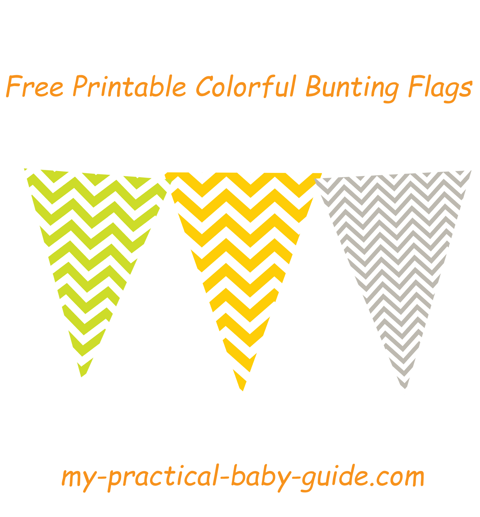Woodland Baby Shower Theme Ideas - My Practical Baby Shower Guide - Baby Shower Bunting Free Printable