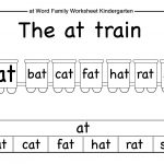 Word Family Worksheets Kindergarten   Briefencounters   Free Printable Word Family Worksheets For Kindergarten