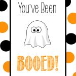 You've Been Booed   Cute Free Printable Tags & Halloween Gift Ideas   You Ve Been Booed Free Printable