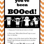 You've Been Booed! Mason Jar Gift & Free Printables | The Happier   You Ve Been Booed Free Printable