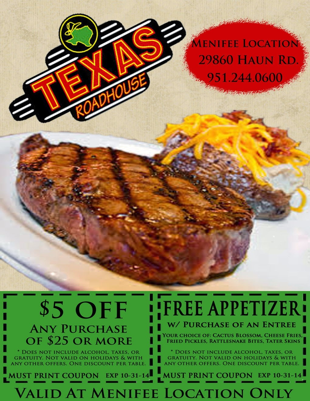 Zumiez Coupons Printable 2018 : Harcourt Outlines Coupons - Texas Roadhouse Free Appetizer Printable Coupon 2015